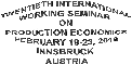 Working-Seminar-on-Production-Economics-18 sw
